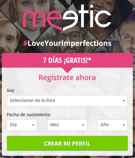 meetic gratis 7 dias