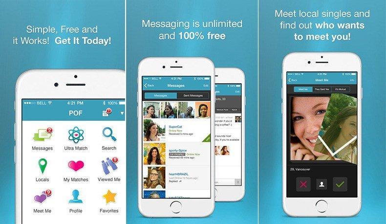 pof app smartphone